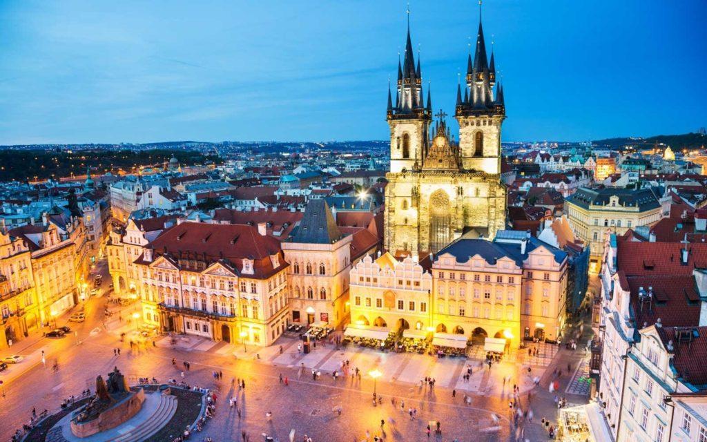 Prague, Cesky Krumlov and Salzburg