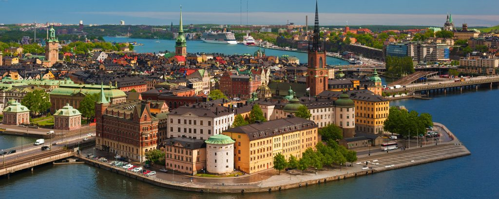 Copenhagen, Stockholm and Oslo by Rail